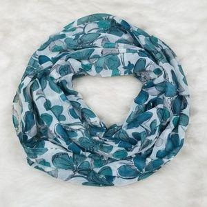 LOFT floral scarf